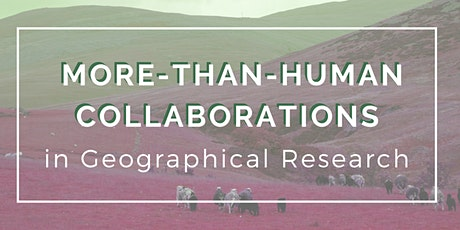 More-Than-Human Collaborations in Geographical Research tickets