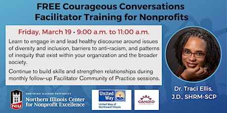 Free Courageous Conversation Facilitator Training for Nonprofits tickets