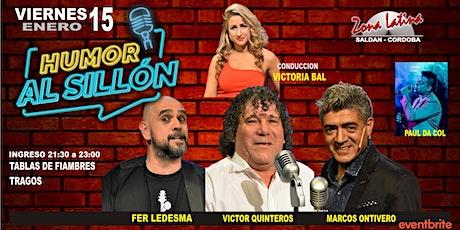 HUMOR AL SILLÓN tickets