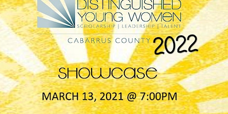 Distinguished Young Women of Cabarrus County tickets