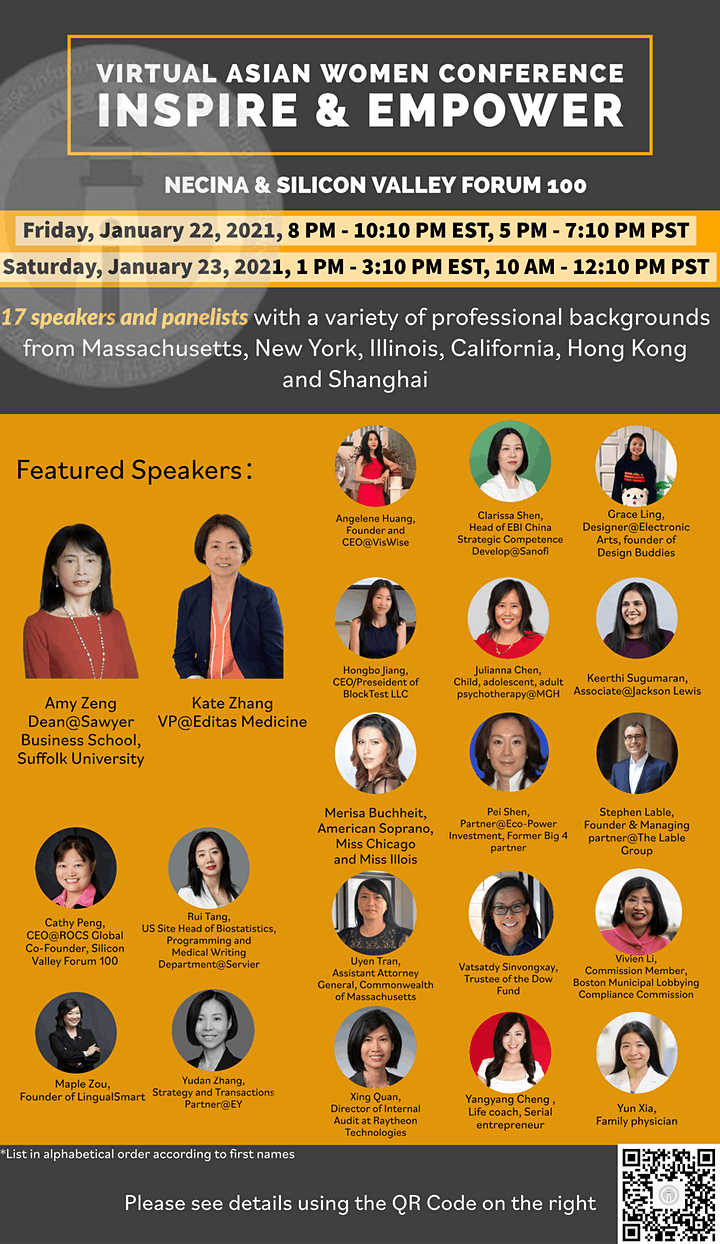 Asian Women's Conference - Inspire and Empower image