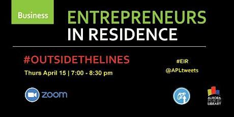 Entrepreneurs in Residence tickets