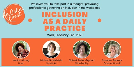 Inclusion as a Daily Practice tickets