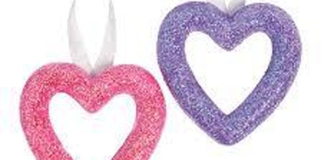 Heart Wreath Take & Make Event tickets