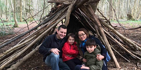 Family Fun- woodland valentines at Leigh Woods - a family half term session tickets