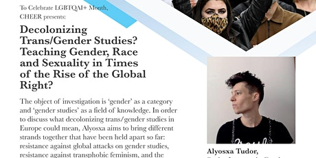 'Decolonizing Trans/Gender Studies? tickets