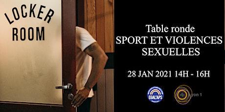 Table Ronde : Sport et Violences sexuelles entradas