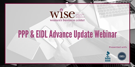 PPP & EIDL Advance Update Webinar tickets