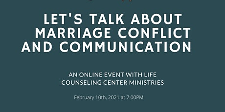 Let's Talk About Marriage Conflict and Communication tickets
