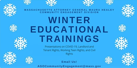 AG Healey's Winter Webinar Series tickets