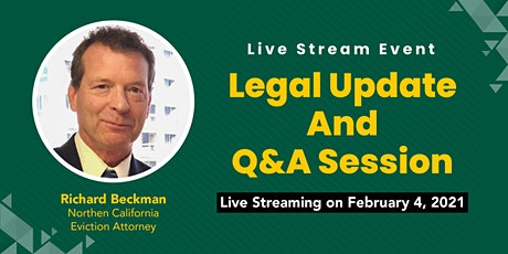 Legal Update and Q&A Session tickets
