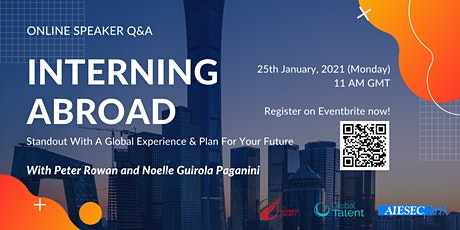 Interning Abroad - Standout With A Global Experience tickets