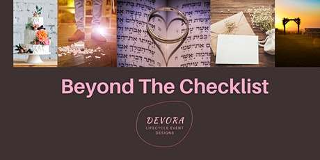Beyond The Checklist: Planning a Wedding From the Heart tickets