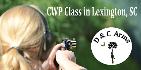 Concealed Weapons Permit (CWP) Class for South Carolina tickets