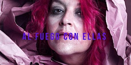 LIVE STREAMING  / AL FUEGO CON ELLASAlicia  Acuña entradas