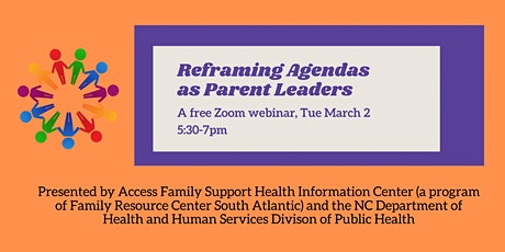 Reframing Agendas as Parent Leaders: A Free Training tickets
