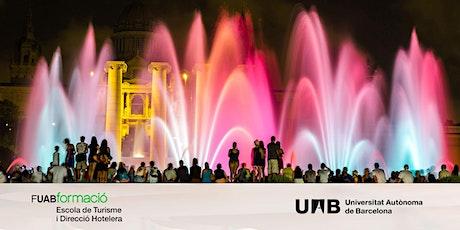 Sesión Online: Máster en Dirección y Organización de Turismo de Eventos UAB bilhetes