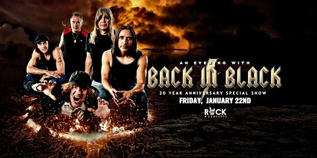 Back in Black - AC/DC Tribute 20th Anniversary Party [4-Ticket Minimum] tickets