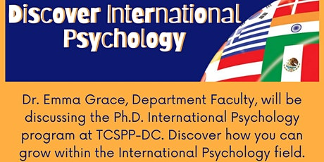 Discover International Psychology: Q&A tickets