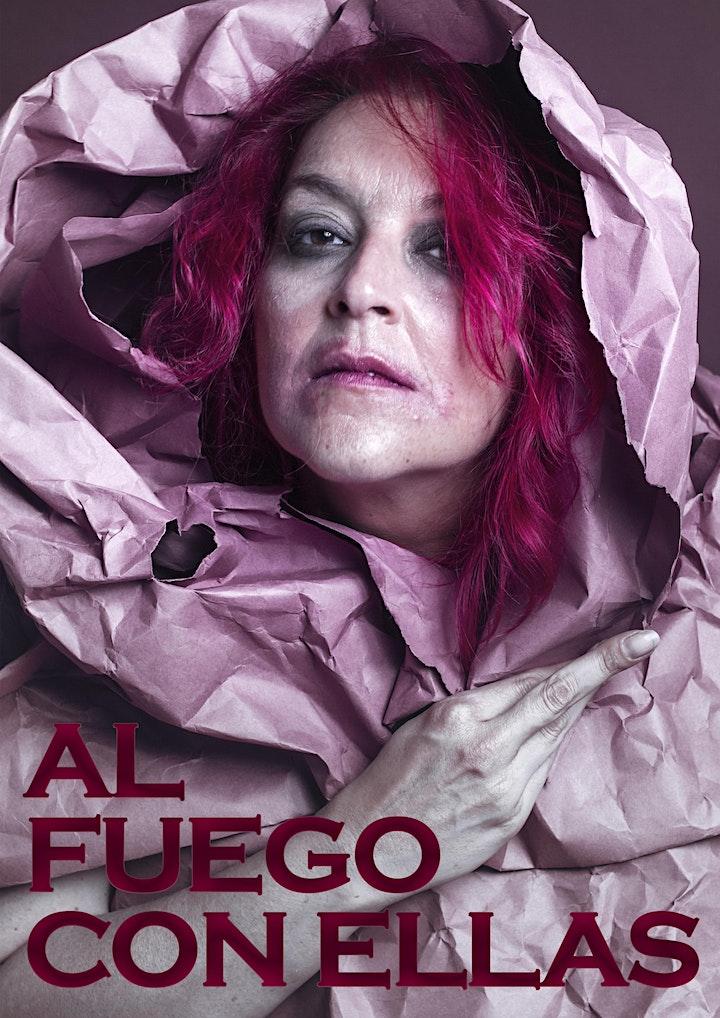 LIVE STREAMING  / AL FUEGO CON ELLASAlicia  Acuña image