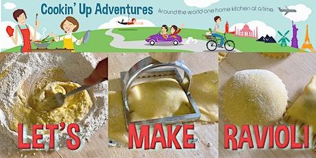 Butternut Squash Ravioli Cooking Adventure tickets