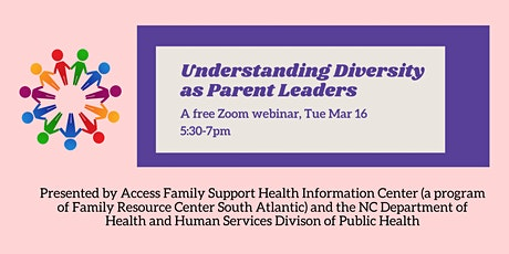 Understanding Diversity as Parent Leaders: A Free Training tickets