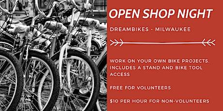 Open Shop DIY @ DreamBikes tickets