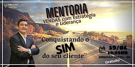 MENTORIA  VENDAS COM ESTRATÉGIA E LIDERANÇA - PNL ingressos