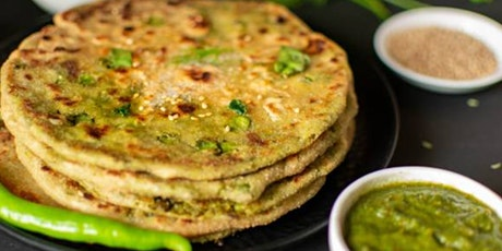 Indian Cooking Workshop - Parathas (Stuffed Indian Flatbread) tickets