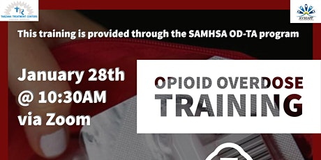 Opioid Overdose Training tickets