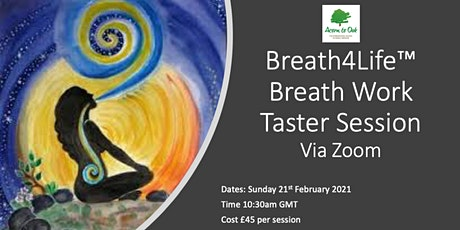 Breath Work Taster Session via Zoom tickets