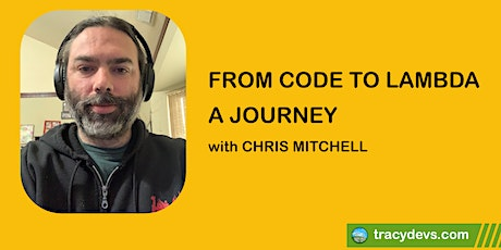 From Code to Lambda - A Journey tickets