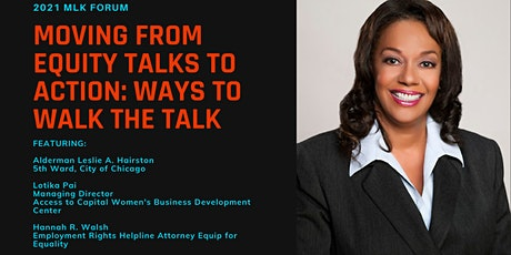 MLK Forum: Moving from Equity Talks to Action: Ways to Walk the Walk tickets