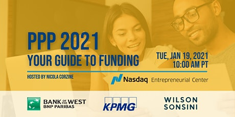 PPP 2021: Your Guide to Funding tickets