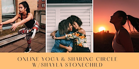 Online Yoga & Sharing Circle w/Shayla Stonechild tickets
