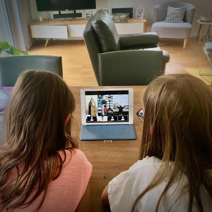 Virtuelle Tour: Mit den CliniClowns nach London reisen: Bild
