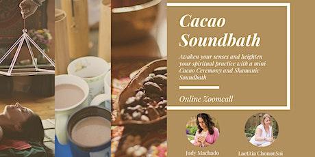 Cacao +Sound Bath Shamanic tickets