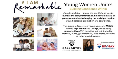 #IamRemarkable workshop – Young Women Unite tickets