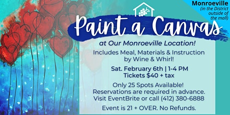 Paint a Canvas at Monroeville tickets