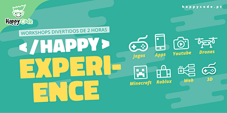 HAPPY EXPERIENCE -  Programação SCRATCH (Live Online) bilhetes