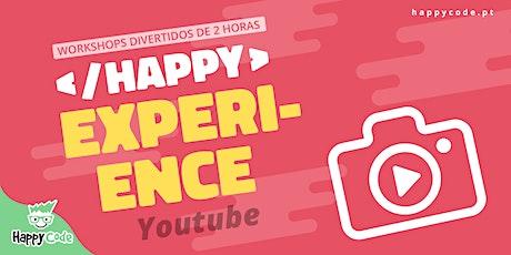 HAPPY EXPERIENCE -  VIDEOMAKER (Live Online) bilhetes