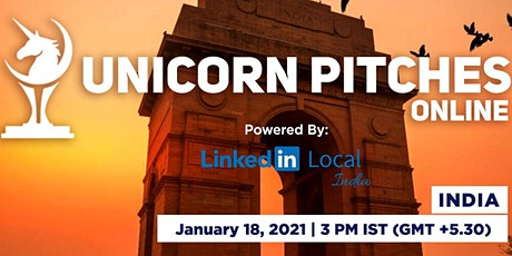 Unicorn Pitches Online - India tickets