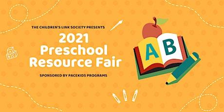 2021 Preschool Resource Fair tickets