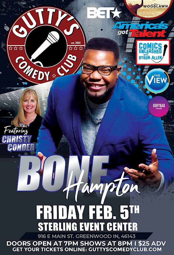 Gutty's Presents: Bone Hampton image