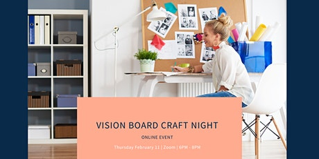 Vision Board Craft Night tickets