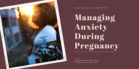 Managing Stress & Anxiety During Pregnancy tickets