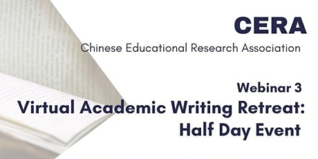 Webinar 3: Virtual Academic Writing Retreat tickets