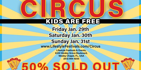 Big Top Circus at the Grove in Wesley Chapel tickets