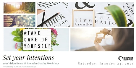 2021 Vision Board & Intention Setting Workshop tickets