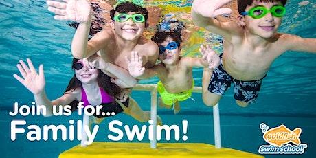 Goldfish Franklin Family Swim   Saturday, January 23    12:00pm-1:30pm tickets